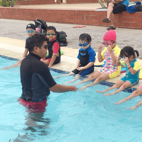Corporate Swimming Lesson For Kids