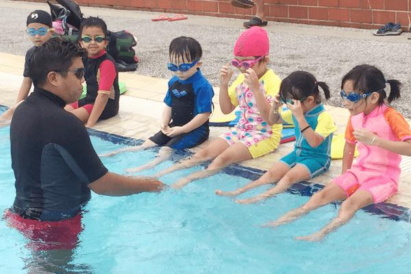 Corporate swimming lesson In Singapore
