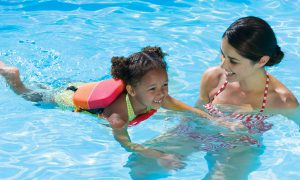 What age For children to take swim lessons